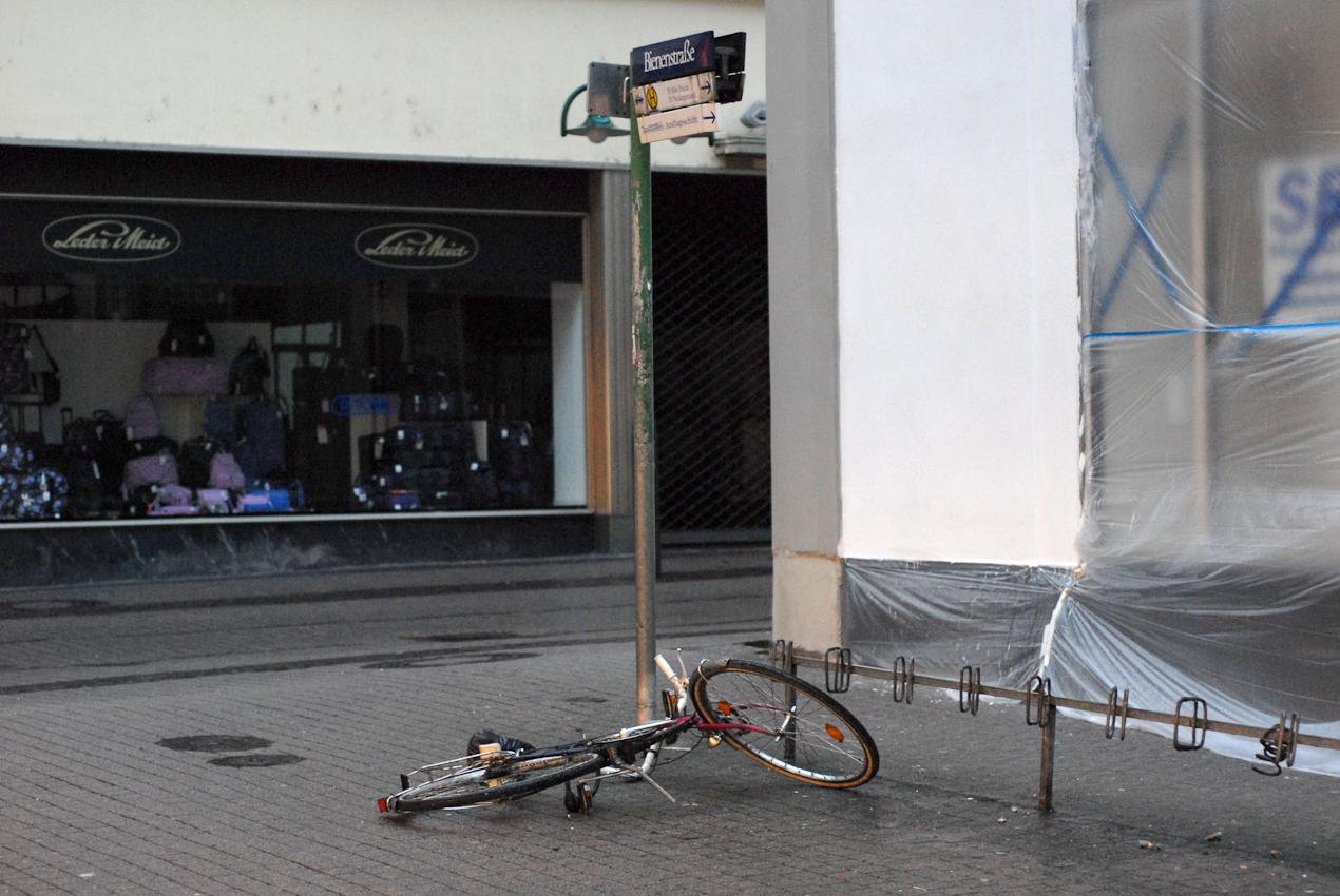 Heidelberg, Überbleibsel vom Vortag