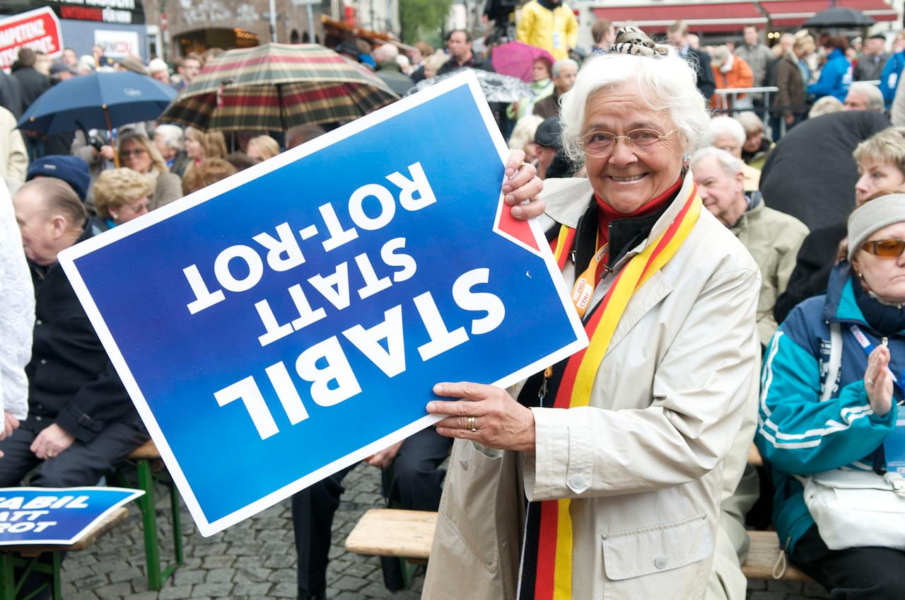 Zwei Tage vor der Landtagswahl in Nordrhein-Westfalen
