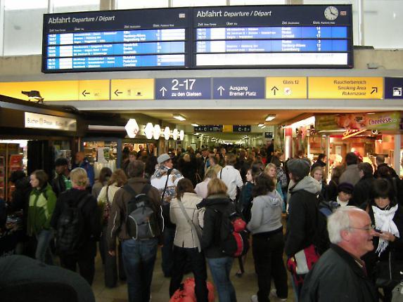 Hauptbahnhof Münster 4