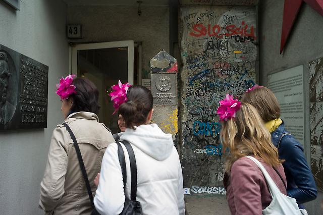 Touristen in Berlin 8